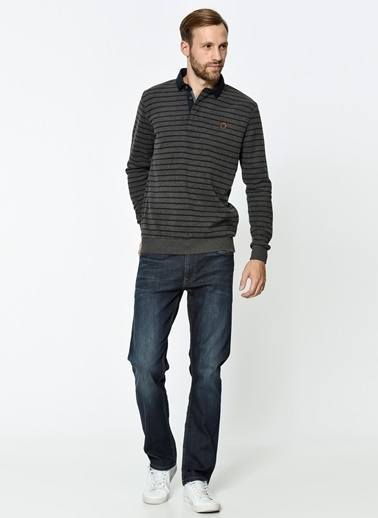 Polo Yaka Sweatshirt-Lee Cooper